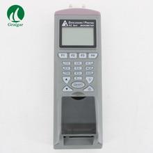 AZ9835 Манометр Цифровой Дифференциальный Манометр с Bulit в принтере устройство для измерения давления позволяет связать ПК