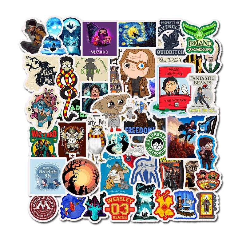 SIKOMOLE® Sticker Decal For Car Laptop 40pcs Movie Anime Porg Bird Funny Cartoon