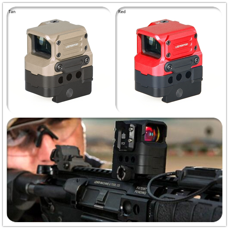 New Arrive DI Optical FC1 Red Dot Sight Scope Reflex Sight Holographic Sight for 20mm Rail Hunting Scopes optical fc1 red dot sight reflex sight holographic sight for 20mm rail hunting rifle