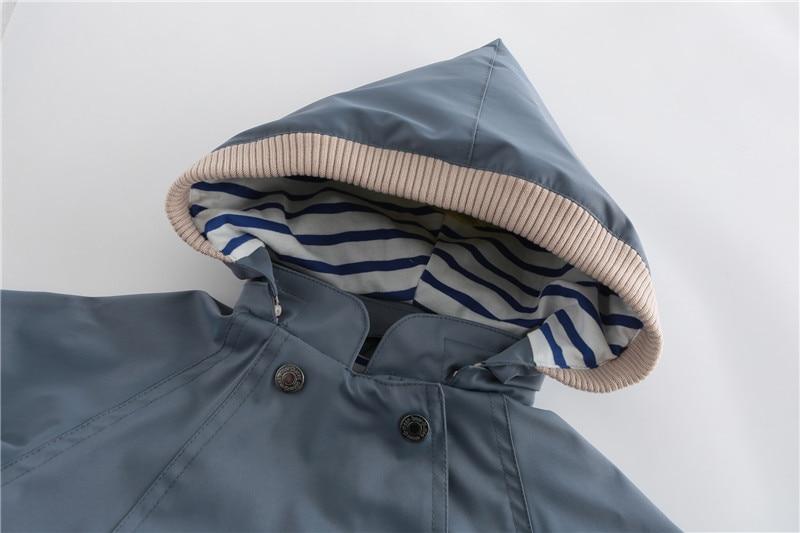 Image 3 - Горячая Распродажа 2019, ветрозащитные водонепроницаемые куртки для маленьких мальчиков, Детские двухслойные куртки, верхняя одежда-in Куртки и пальто from Мать и ребенок