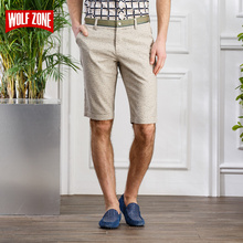top fashion shorts men bermuda mens masculina short homme beach brand clothing Casual Knee Length Regular Cotton summer