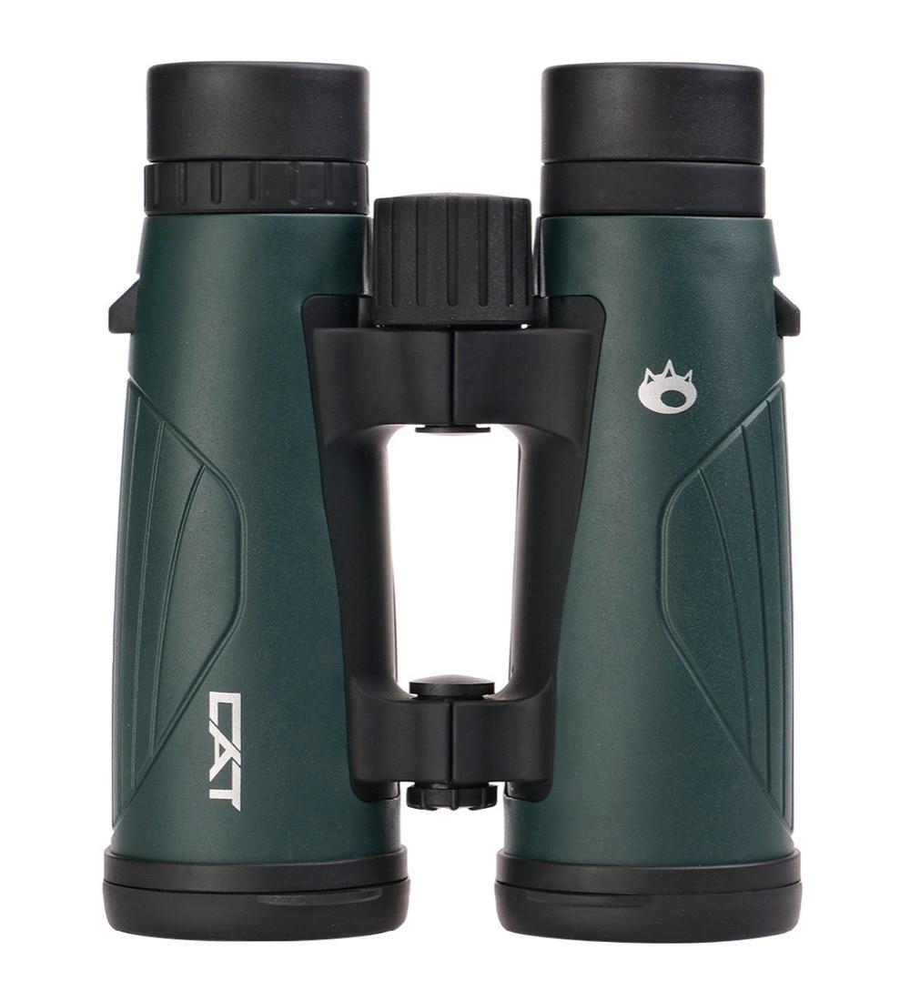 Cat JOY 10x42 Roof Binoculars, BaK4 Prism, Multi-coating, Waterproof, Ergonomic Open Hinge Design, Telescope free shipping 2015 new 8x42 waterproof bak4 roof prism binoculars 118m 1000m long range high end binoculars hot sale