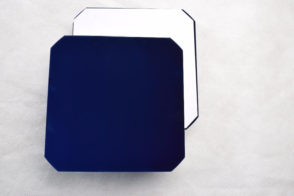 Prix pour 20 Pcs 21% D'efficacité 125 MM Cellule Solaire panneau solaire retour contact système mono module solaire 12 V DIY kit module