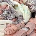 168*80 см Элегантный Женщины Длинные Хлопка Печати Шарф Wrap Дамы Шаль Большие Шелковые Шарфы Бесплатная Доставка
