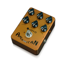 лучшая цена JOYO JF - 14 Electric Guitar Effect Pedal True Bypass Design American Sound Amp Simulator Electric Guitar Effect Pedal