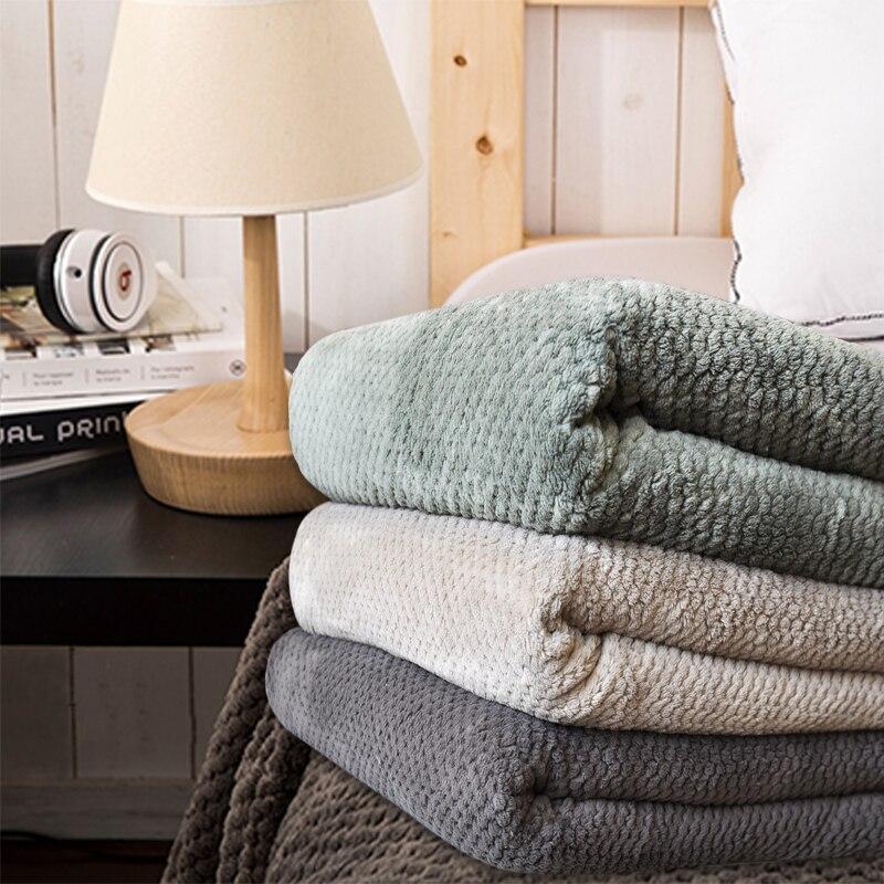 Одеяло темно-зеленый Кофе/диван покрывало/Простыни Детские/Полотенца/Одеяла воздушного путешествия покрывало для зимы, серый удобные Одея...