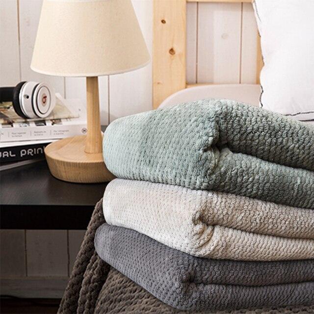 Decke Grun Dunkel Kaffee Sofa Bettdecke Blatter Handtuch Decken