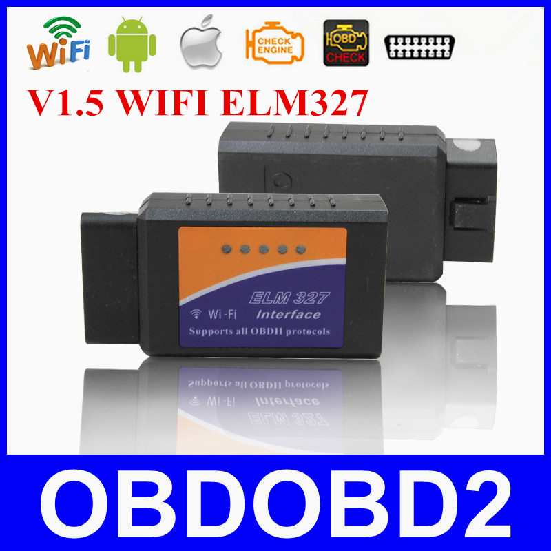 ELM327 WIFI Interface V1 5 For iOS font b Android b font Suports All OBDII Protocols
