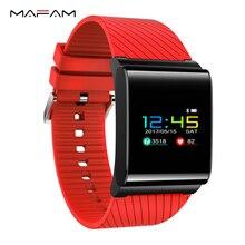 Mafam X9 Pro Smart Браслет IP67 Водонепроницаемый плавание шагомер Фитнес Smart Браслет артериального давления сердечного ритма Мониторы