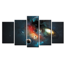 5 Pieces/set Space poster Wall Art For Decor Home Decoration Picture Paint on Canvas Prints Painting/Abstract-35