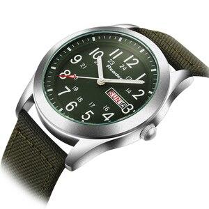 Image 2 - Мужские наручные часы Readeel, роскошные Брендовые спортивные часы с кварцевым ремешком в стиле милитари, 2019