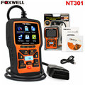 FOXWELL NT301 OBD2 EOBD CAN Engine Scanner Car Diagnostic Scan Tool Code Reader Portuguese,Spanish,French,English Free Update