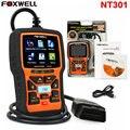 FOXWELL NT301 OBD2 EOBD CAN Leitor de Código de Carro Scanner De Diagnóstico Ferramenta de Verificação Do Motor Português, Espanhol, Francês, Inglês Atualização gratuita