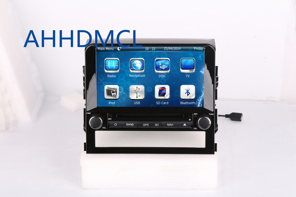 AHHDMCL Car Multimedia Player DVD Stereo Audio Radio GPS Navigation For Toyota <font><b>Land</b></font> <font><b>Cruiser</b></font> <font><b>LC200</b></font> 2016 <font><b>2017</b></font> image
