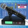 Microfono DHL Лучшее Качество SLX24 Beta58 Беспроводной Микрофон Профессиональный UHF Вокальный Микрофон Система Для КТВ DJ