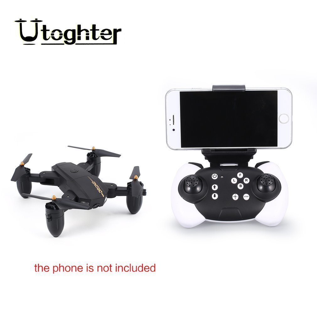 Utoghter X39-1 Pocket Mini FPV Foldable Drone RC Quadcopter with Wifi Camera Live Video Altitude Hold Headless ModeUtoghter X39-1 Pocket Mini FPV Foldable Drone RC Quadcopter with Wifi Camera Live Video Altitude Hold Headless Mode