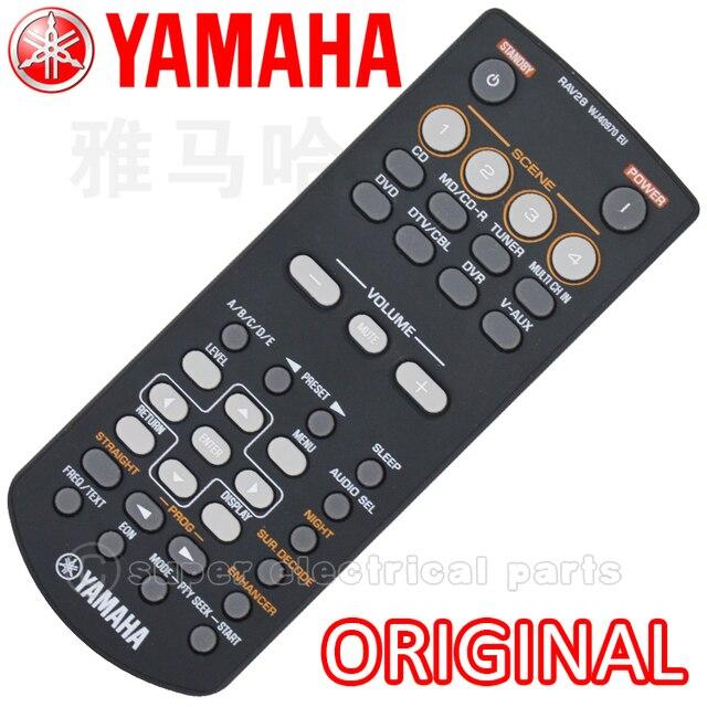 US $40 88 |Original Remote Control For Yamaha RAV28 RAV250 RX V361 Home  Theater Amplifier CD DVD AV Receiver 1PCS-in Remote Controls from Consumer