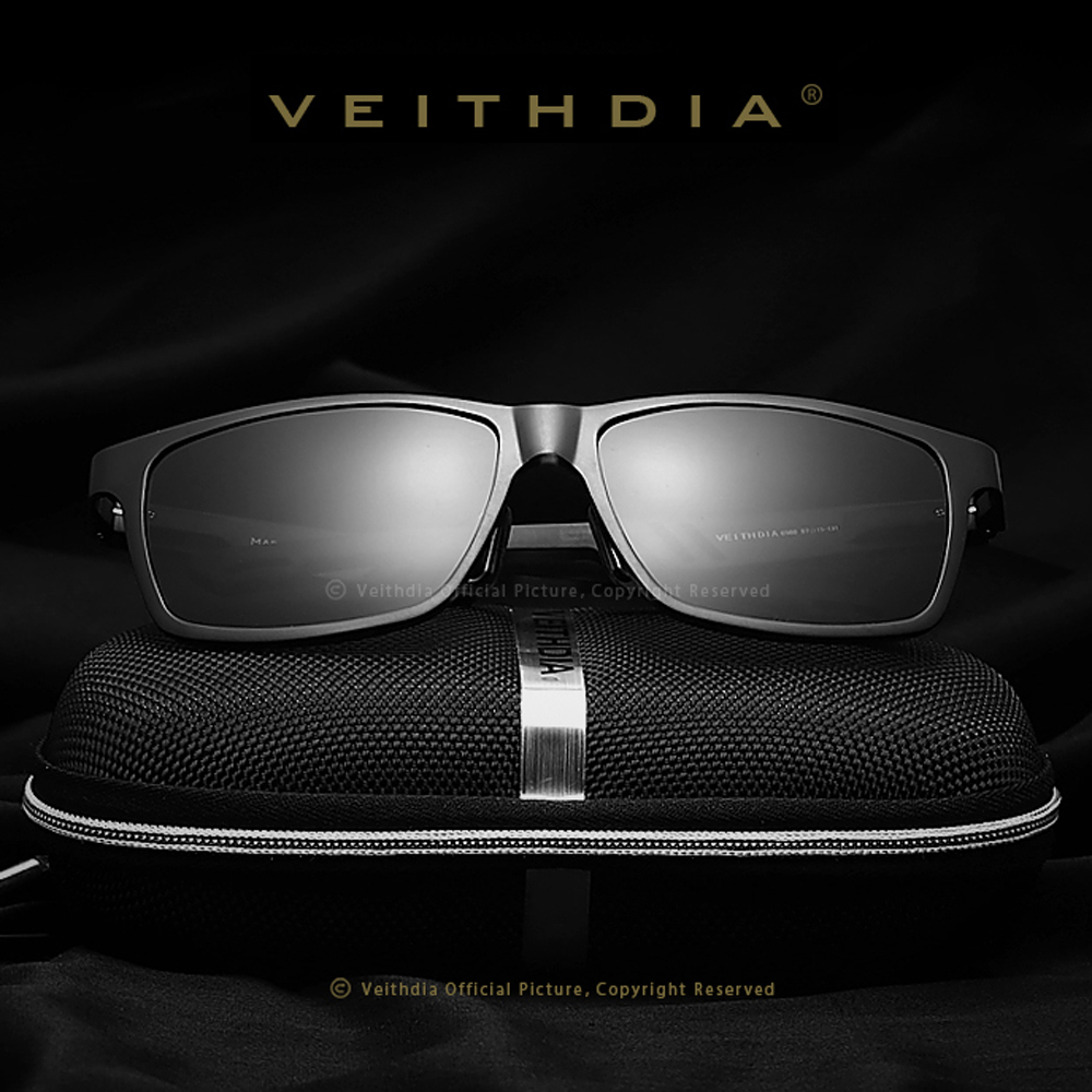 VEITHDIA Aluminum Polarized Lens Sunglassess