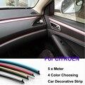 5 Meter  PVC decorative tape Auto dash panel trim strip Car Rein Side moulding decoration Strip C0 C1 C2 C3 C4 C4L C5  Picasso