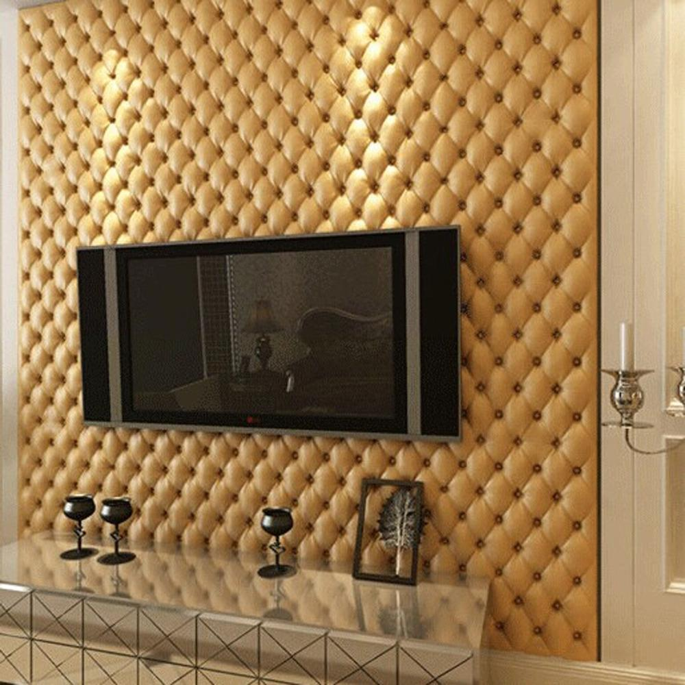 great wall 3d imitation leather vein 10 m roll wallpaper for walls