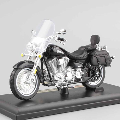 1/18 scale child mini metal diecast YAMAHA 2001 Road Star Silverado touring cruiser motorcycle models collection Toys for kids Karachi