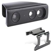 Zoom Chơi Đun Giảm Lens Rộng Angl Phổ Adapter + Điều Chỉnh TV Clip Kẹp Núi Đứng Cho Xbox 360 Kinect cảm biến