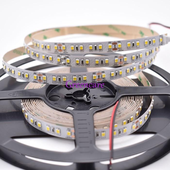 22-24LM/led Super Bright 10mm SMD 2835 LED strip Light 600leds/5M/Reel Flexible LED Tape 600leds DHL Freeshipping 100M/lot