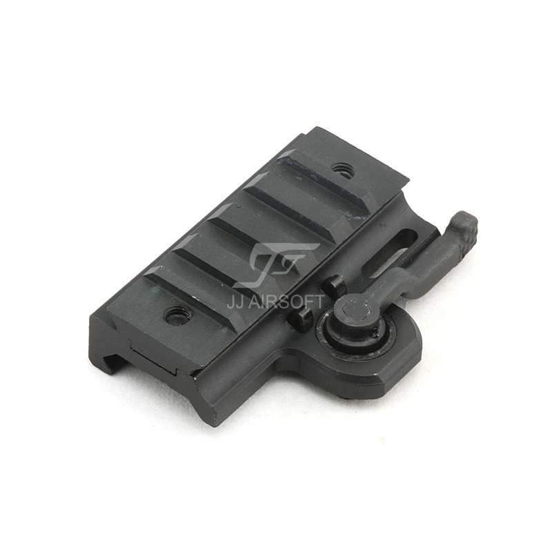 JJ Airsoft A.R.M.S. #17 DR. Throw Lever Dovetail Rail Mount ...