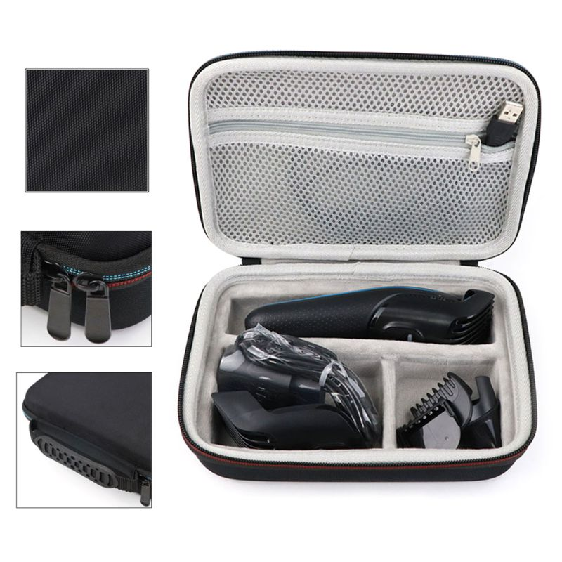 1 pcs 새로운 전문 eva 전기 면도 면도기 저장 가방 머리 깎기 보관 케이스 전기 면도기 수호자 운반 상자