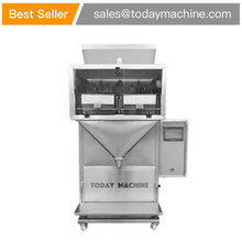 CE approval high speed 4 Head Linear Weigher for Seeds doypack Machine