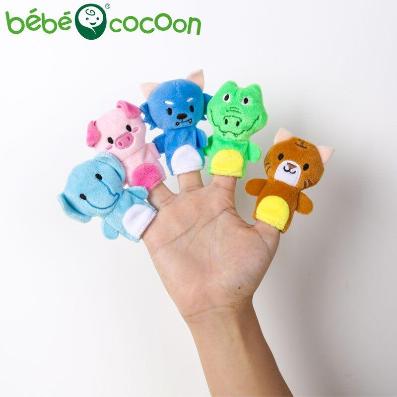 bebecocoon 10 unids / lote juguete de peluche de bebé marionetas de - Muñecas y peluches - foto 4
