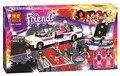Bainily 10435 Друзей Гриль лимузин Большой певица Совместимость С Legoe Кирпичи устанавливает Строительный Блок Игрушки для детей подарок