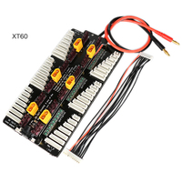 XT60 / T Plug Lipo Battery Charger 2 8S Parallel Balanced Charging Board for PL6 PL8 ICharger308/3010/4010