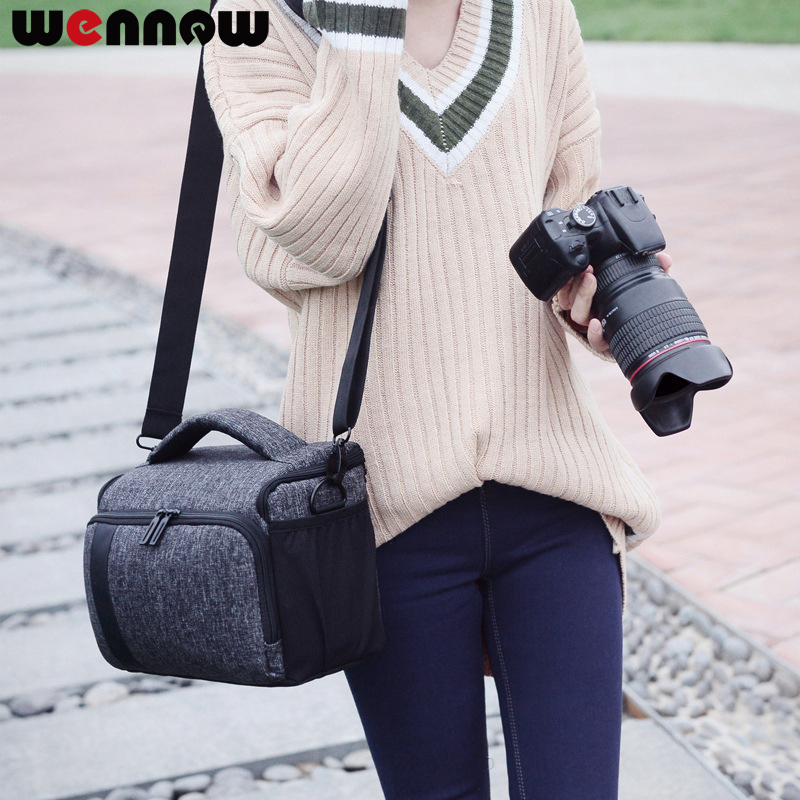 Wennew Sac À Dos DSLR Caméra Étanche Sac pour Nikon D3400 D3300 D3200 D3100 D850 D750 D90 D80 P900S P900 B700 D300S housse De pluie