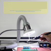 30W TBK Anti Static Solder Smoking Absorber ESD Fume Extractor for Phone Repair Welding Instrument Tool