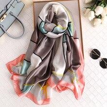 fashion silk scarf women winter headband chiffon Scarves