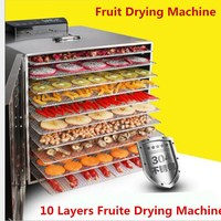 Multifunctional 220V Food Dehydrator Fruit Vegetable Herb Meat Drying Machine
