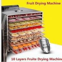 Multifunctional 220V Food Dehydrator Fruit Vegetable Herb Meat Drying Machine