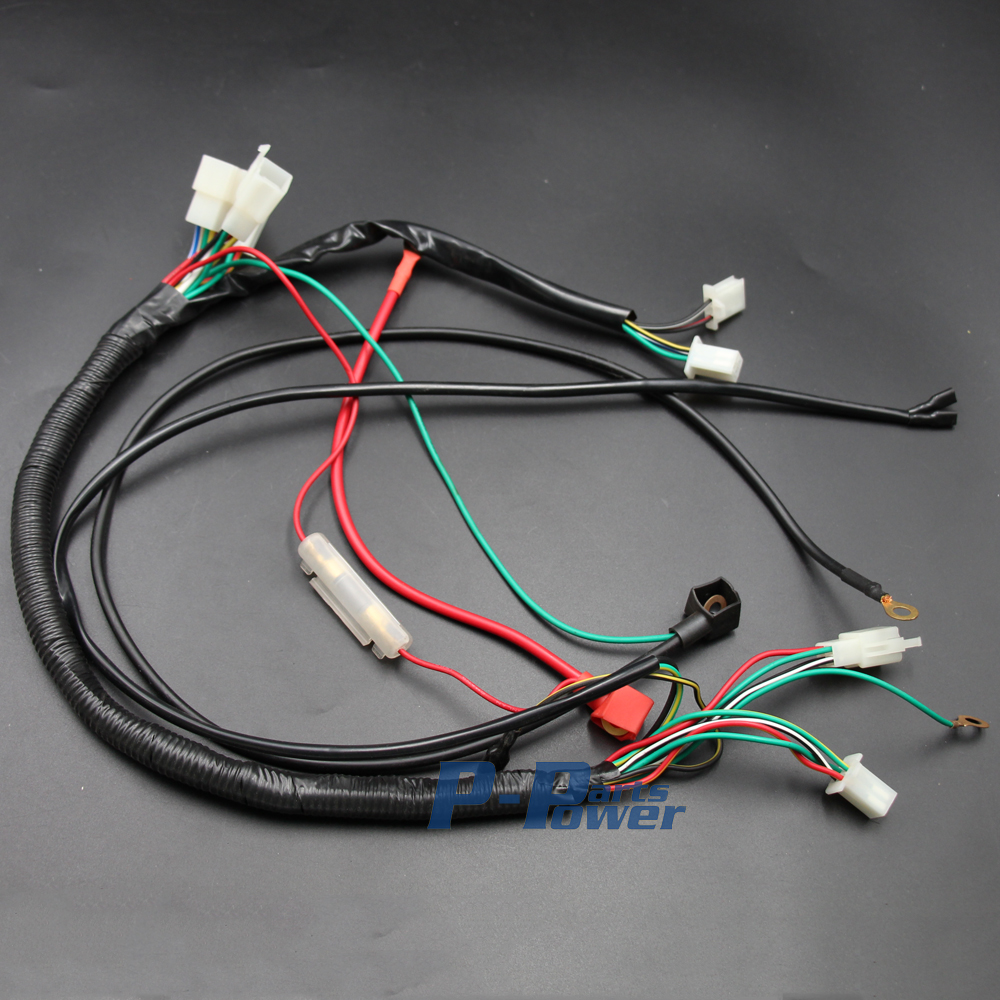 lifan 200cc wire harness wiring assembly for honda. Black Bedroom Furniture Sets. Home Design Ideas