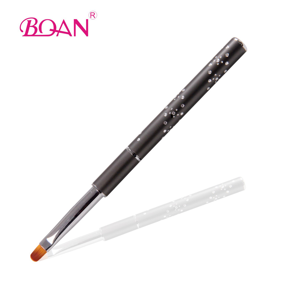 10pcs/lot  6# BQAN New Design Metal Handle Nail Art Gel Brush
