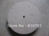 1pc 300mm Felt Wool Buffing Polishing Wheels Pads Polisher Size 300 30 10 32mm