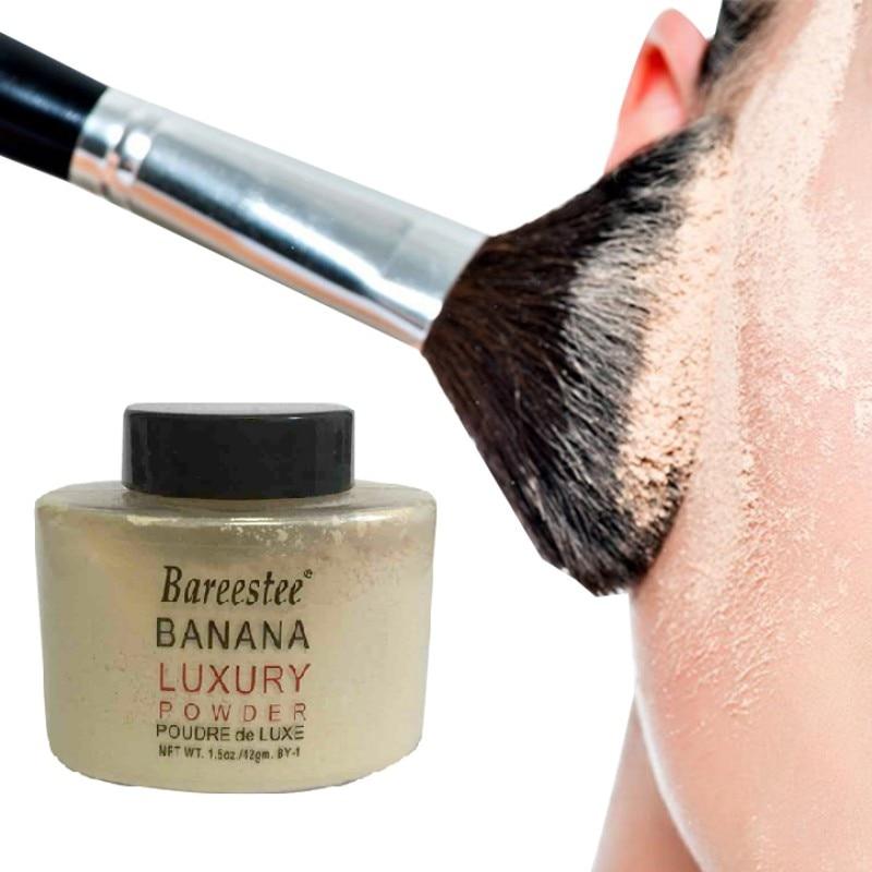 Women Makeup Loose Banana Powder Bottle Authentic Luxury For Face Foundation Beauty Makeup