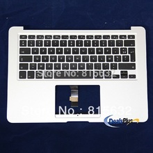 Topcase For Macbook Air 13″ A1466 2012 year MD231LL/A MD232LL/A Top case Palmrest with Keyboard FR AZERTY Clavier, WHOLESALE