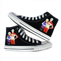 Student Sneakers Unisex Anime YURI!!! on ICE Casual Canvas Shoes yuri on ice victor Print board Shoes A51603