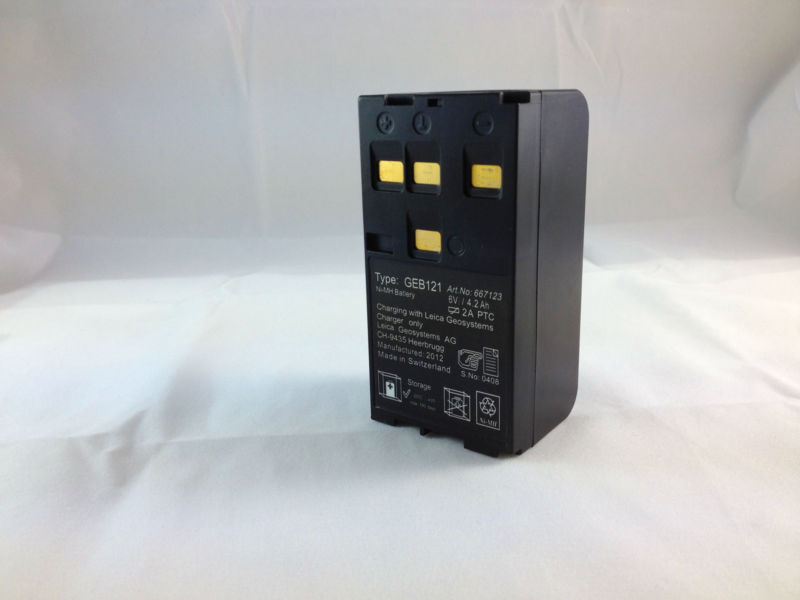 BRAND NEW GEB121 Battery ,For TPS300 TPS400,TPS700,TPS800 Total Stations total station geb111 battery suitable for tps300 700 series