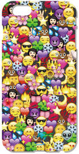 1 pc Retail Funny Emoji Hard Back Cell Phone Case Cover For iphone 4 4S 5 5S SE 5C 6 6S Plus For iPod Touch 4 5 6 Mobile Cases