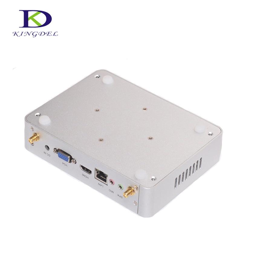Slim PC 16*12*3.7CM Palm Computer Desktop For School N3150 Quad Core 14nm CPU HTPC 4*UBS 3.0 1*LAN 1*VGA  300M WIFI