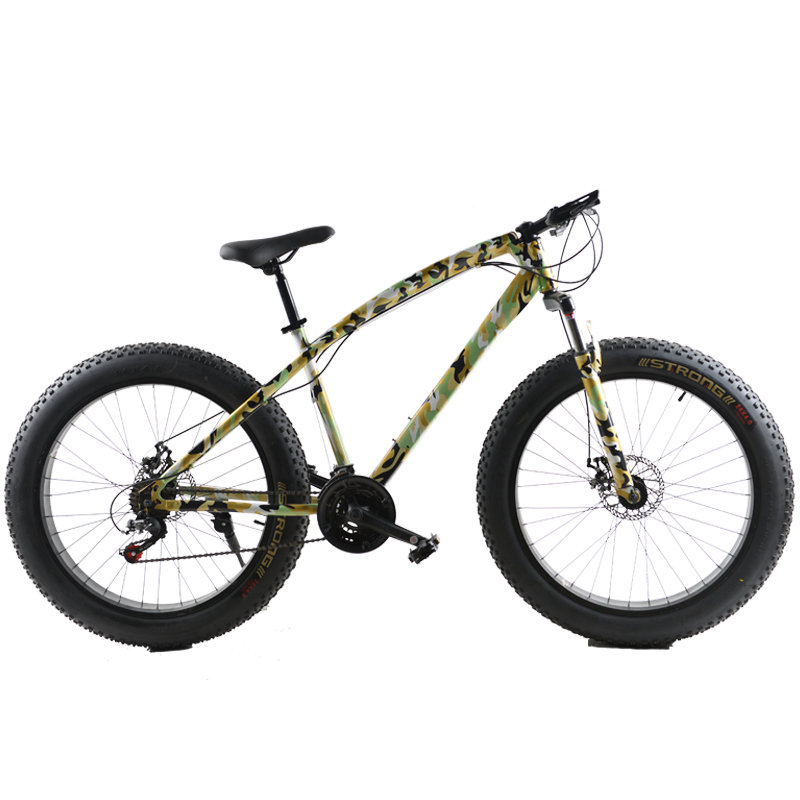 26 Inch 21 Speed Cross Country Beach Snow Bike 4 0 Super Wide Tires Mountain Bike