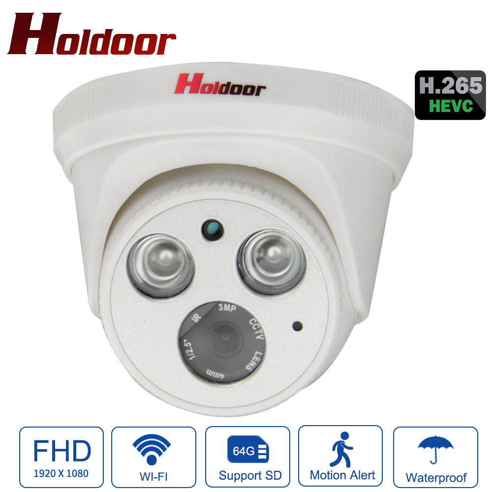Holdoor H.265/H.264 Full HD 1080P IP Camera SonyIMX307 Starlight WiFi IPC Motion Detection Email Alarm Video Indoor Night VisionHoldoor H.265/H.264 Full HD 1080P IP Camera SonyIMX307 Starlight WiFi IPC Motion Detection Email Alarm Video Indoor Night Vision
