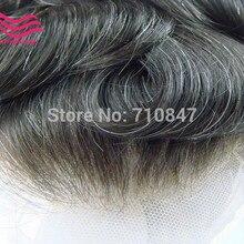 """Alistingtaowigs накладки из искусственных волос для мужчин 8x1"""" французское кружево или швейцарский шнурок, индийские Реми волосы для ЖК-экрана, для мужчин парик"""